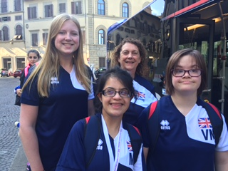 GB Synchro Team in Italy!