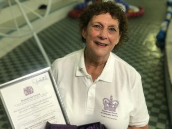 We have won The Queen's Award to Voluntary Service. Hooray!