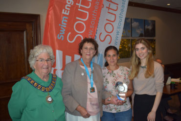 Swim England's Swimming Club of the Year award for the south East Region